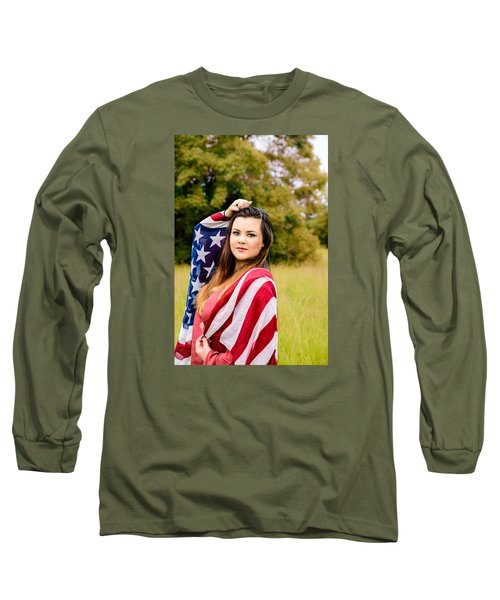 5633 Long Sleeve T-Shirt by Teresa Blanton