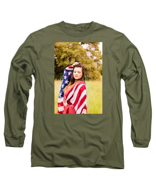 5635-2 Long Sleeve T-Shirt by Teresa Blanton