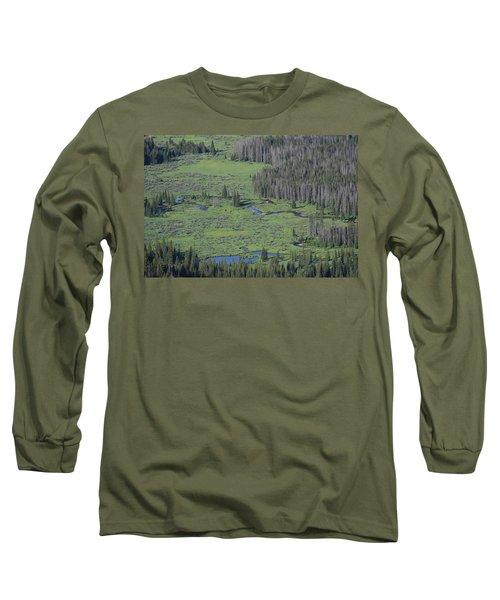 Scenery Rocky Mountain Np Co Long Sleeve T-Shirt