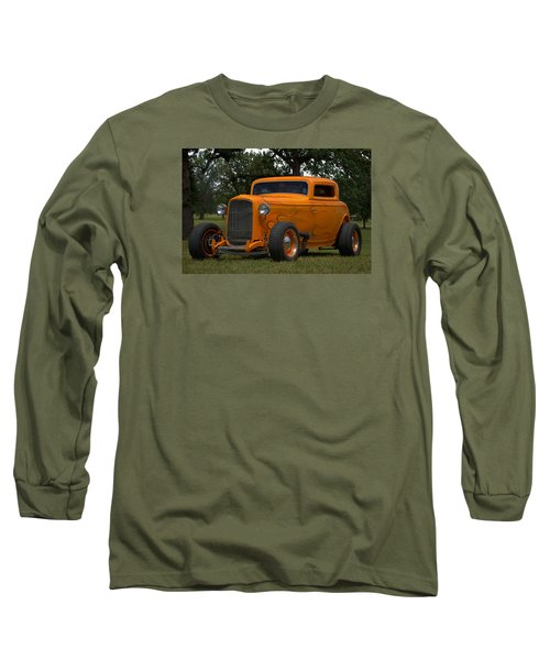 1932 Ford Coupe Hot Rod Long Sleeve T-Shirt by Tim McCullough