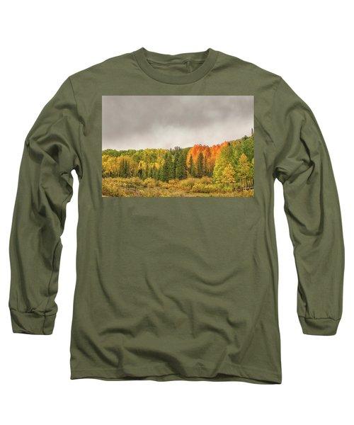 Colorado Fall Foliage 1 Long Sleeve T-Shirt