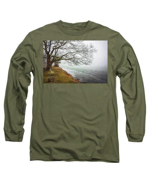 Green Pond New Jersey Winter C409 Long Sleeve T-Shirt