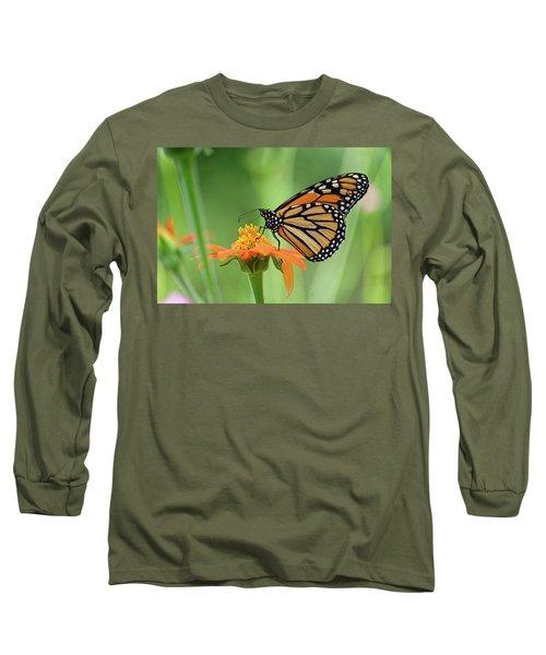 Monarch Long Sleeve T-Shirt by Ronda Ryan