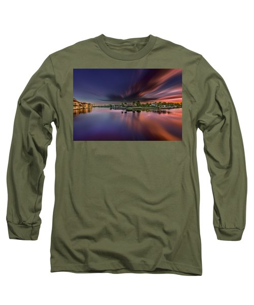 Sunrise At Naples, Florida Long Sleeve T-Shirt