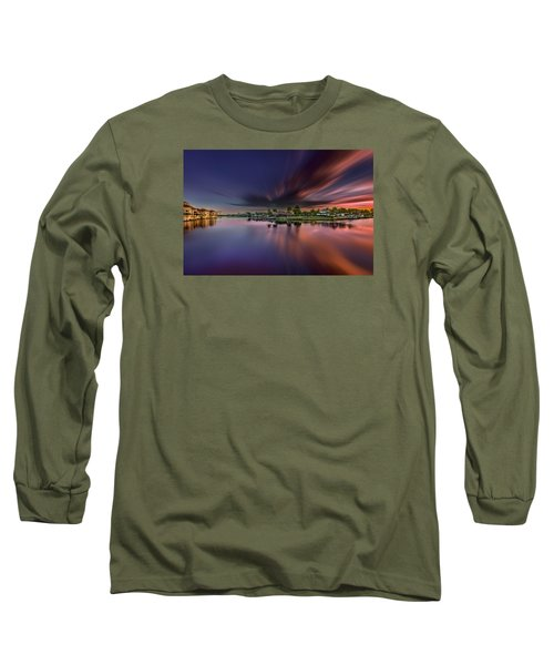 Sunrise At Naples, Florida Long Sleeve T-Shirt