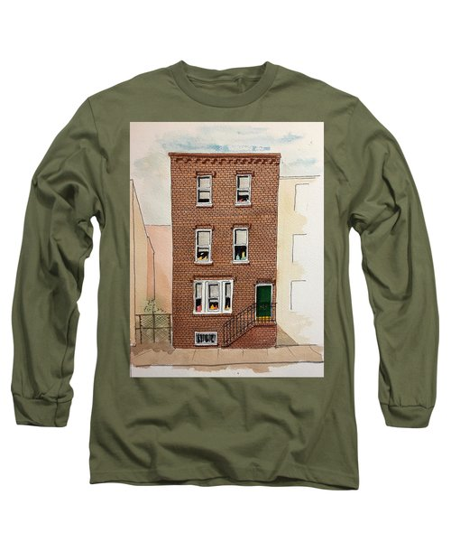 615 South Delhi St. Long Sleeve T-Shirt by William Renzulli