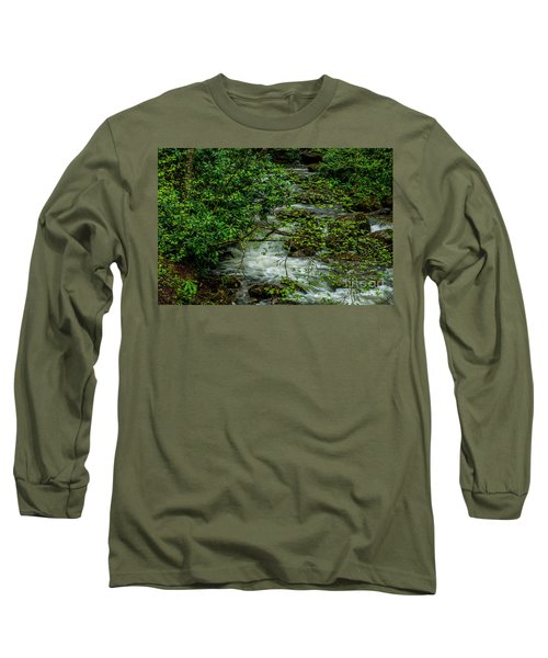 Long Sleeve T-Shirt featuring the photograph Kens Creek Cranberry Wilderness by Thomas R Fletcher