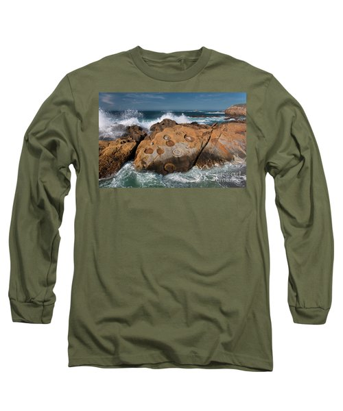 Point Lobos Concretions Long Sleeve T-Shirt