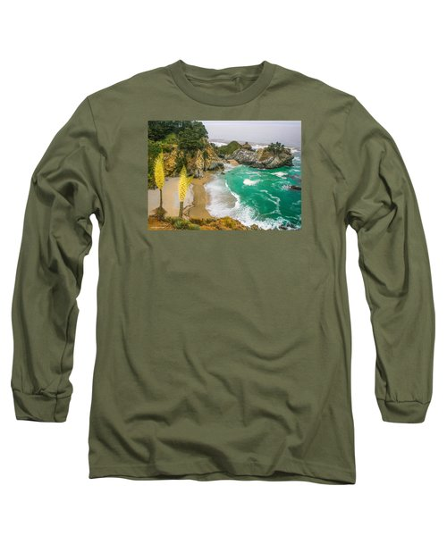 #7842 - Big Sur, California Long Sleeve T-Shirt