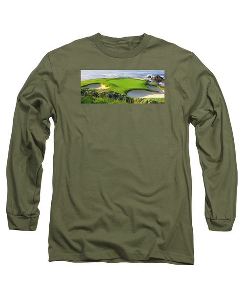 7th Hole At Pebble Beach Hol Long Sleeve T-Shirt