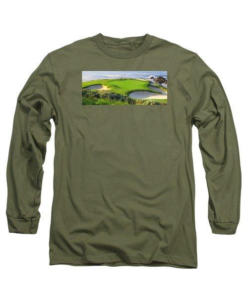 7th Hole At Pebble Beach Hol Long Sleeve T-Shirt