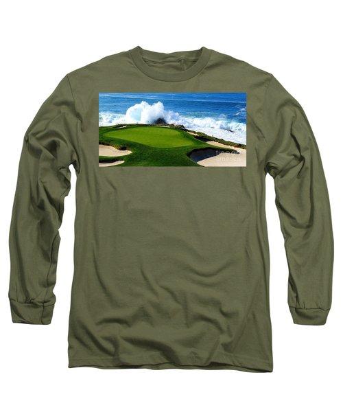 7th Hole - Pebble Beach  Long Sleeve T-Shirt