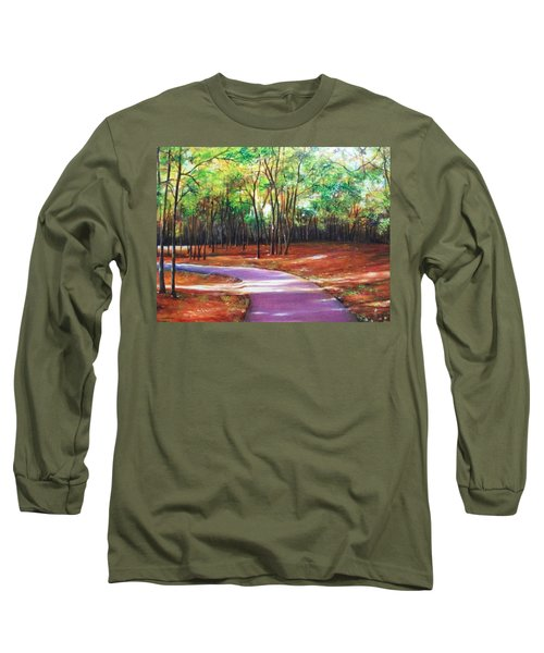 Home Long Sleeve T-Shirt by Emery Franklin