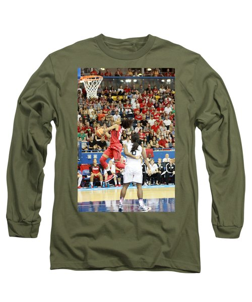 Pam Am Games Womens' Basketball Long Sleeve T-Shirt
