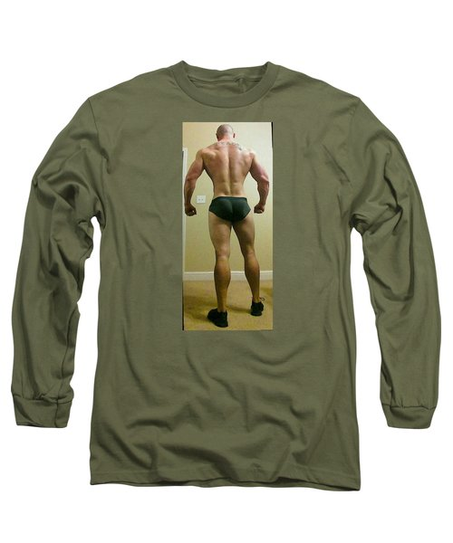 Long Sleeve T-Shirt featuring the photograph Rear View by Jake Hartz