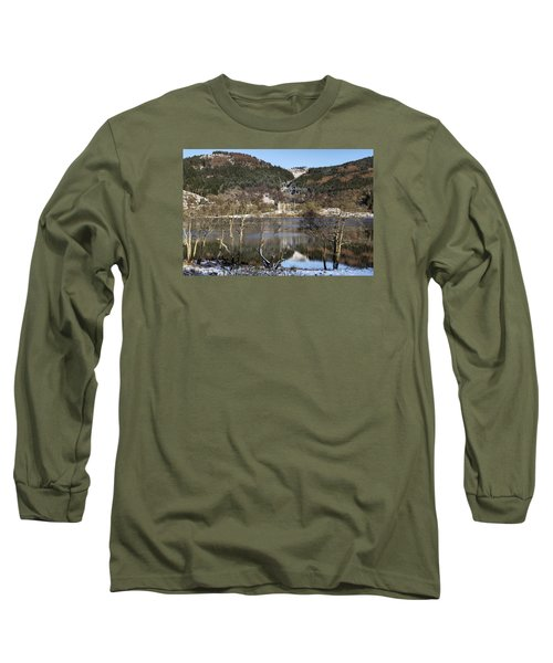 Trossachs Scenery In Scotland Long Sleeve T-Shirt by Jeremy Lavender Photography