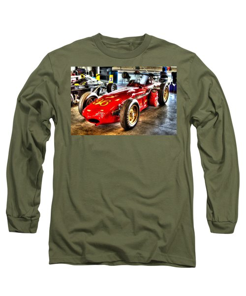 1961 Elder Indy Racing Special Long Sleeve T-Shirt by Josh Williams