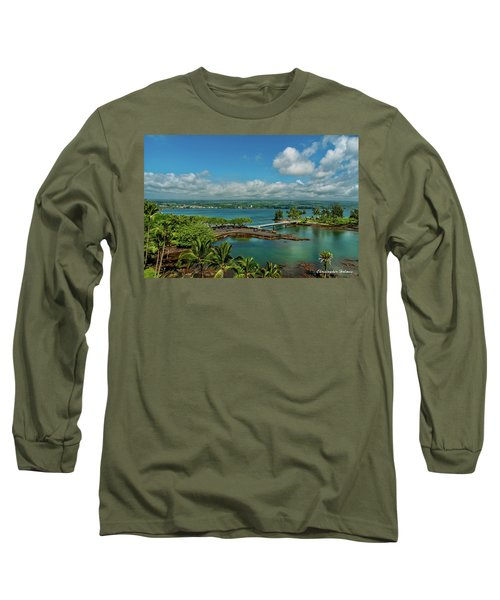 A Beautiful Day Over Hilo Bay Long Sleeve T-Shirt
