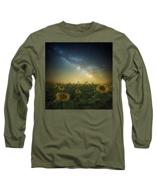 A Billion Suns Long Sleeve T-Shirt by Aaron J Groen