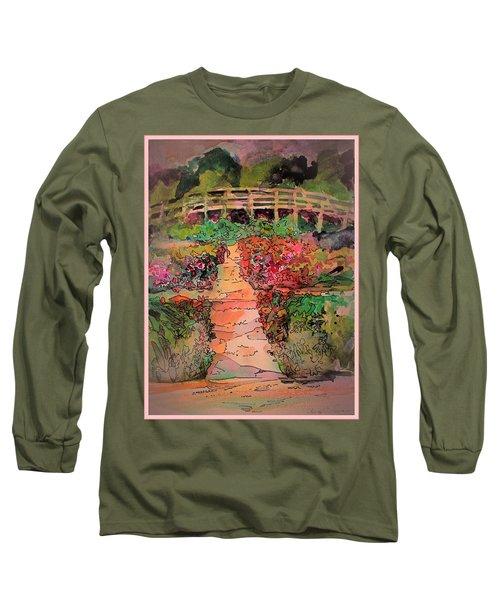 A Charming Path Long Sleeve T-Shirt by Mindy Newman