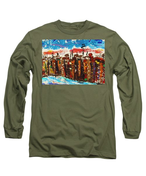 A City Like Baltimore Long Sleeve T-Shirt