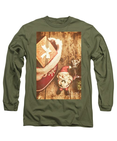 A Clause For A Merry Christmas  Long Sleeve T-Shirt
