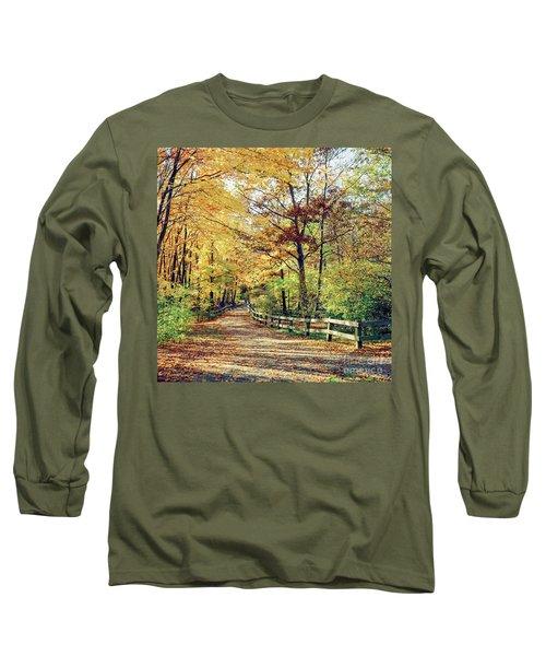 A Colorful Walk Long Sleeve T-Shirt