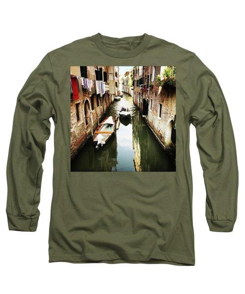 A Corner In Venice Long Sleeve T-Shirt