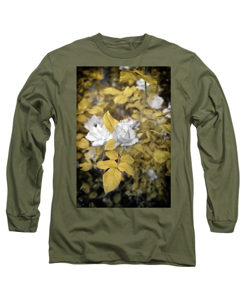 A Day In The Garden Long Sleeve T-Shirt by Paul Seymour