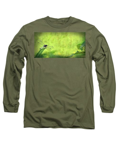A Day In The Swamp Long Sleeve T-Shirt by Mark Fuller