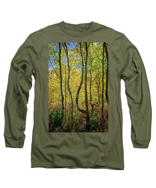 Long Sleeve T-Shirt featuring the photograph A Day In The Woods by Scott Read