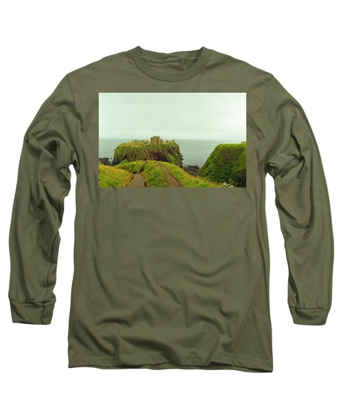A Defensible Position Long Sleeve T-Shirt by Jan W Faul