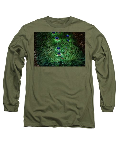 A Different Point Of View Long Sleeve T-Shirt by Elaine Malott