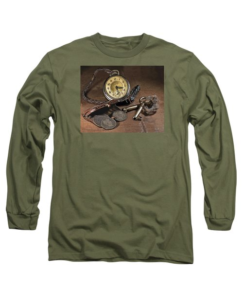 A Different Time Long Sleeve T-Shirt by Mark Allen