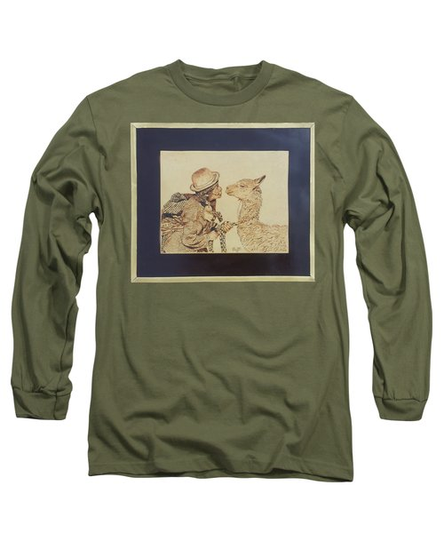 A Door To The Andean Heart Long Sleeve T-Shirt