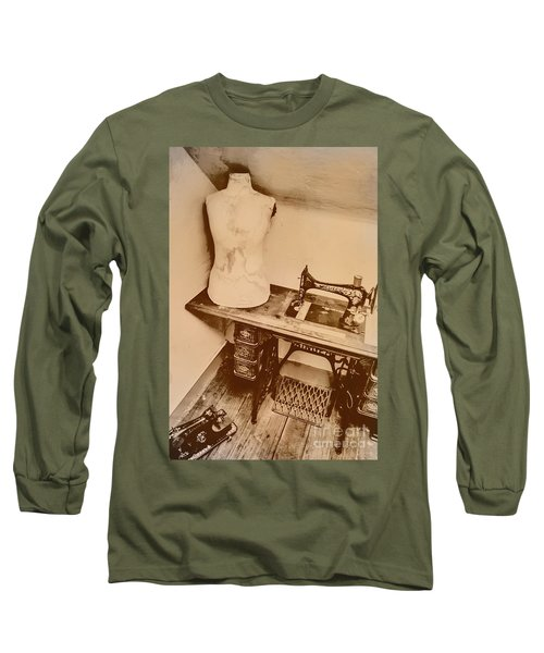 A Dressmakers Corner Long Sleeve T-Shirt