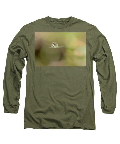 A Drop Of Subtlety Long Sleeve T-Shirt by Janet Dagenais Rockburn