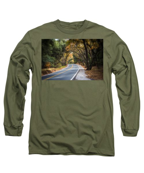 A Fall Roadway Long Sleeve T-Shirt