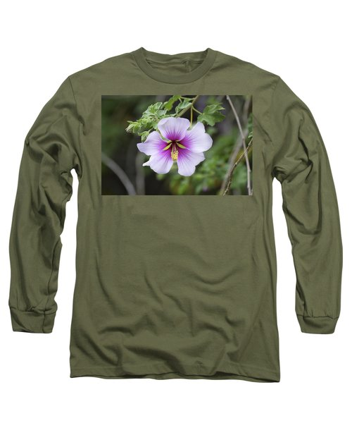 Long Sleeve T-Shirt featuring the photograph A Flower by Alex King