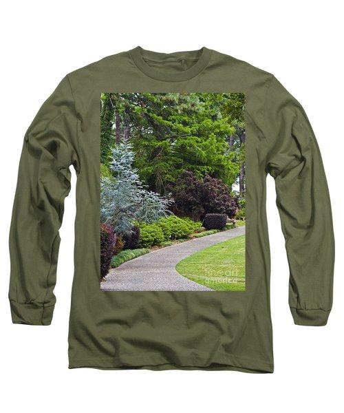 A Garden Walk Long Sleeve T-Shirt