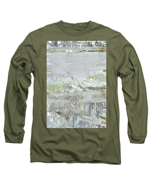 A Glass Half Full Long Sleeve T-Shirt