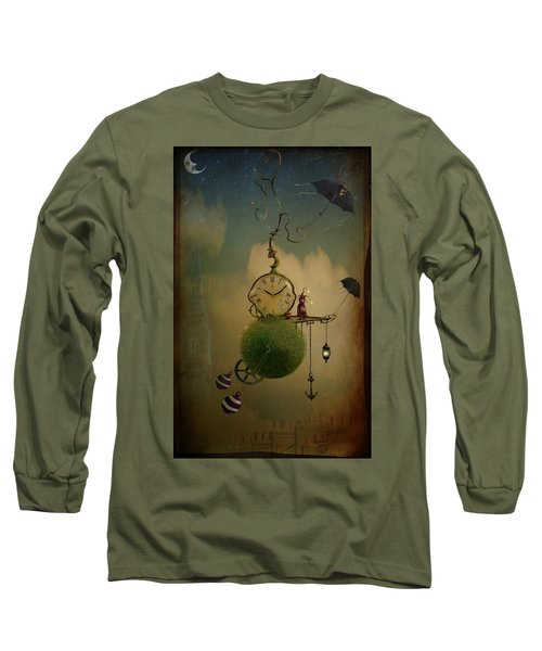 A Glitch In Time Long Sleeve T-Shirt