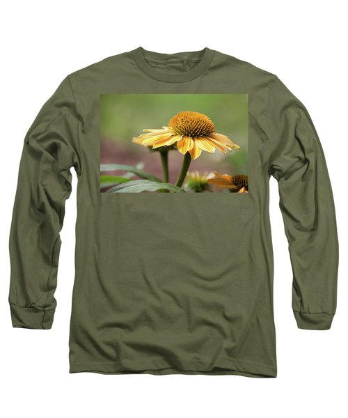 A Golden Echinacea -  Long Sleeve T-Shirt