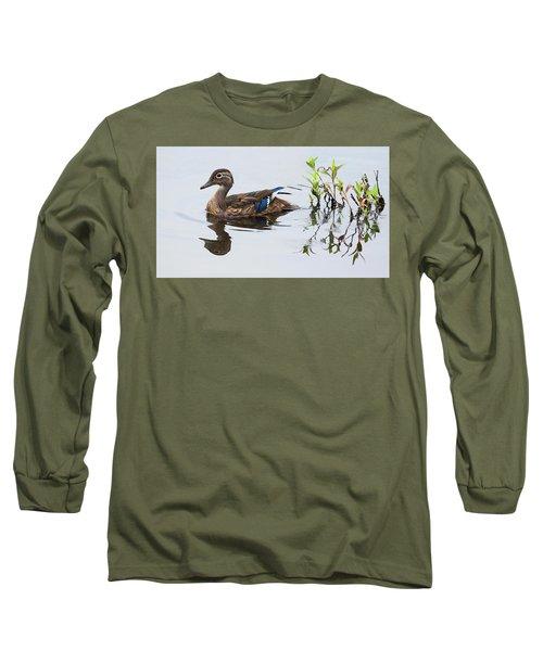 A Graceful Swim Long Sleeve T-Shirt