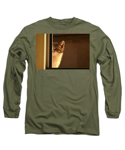 A Half-portrait Long Sleeve T-Shirt
