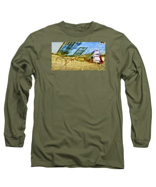 Long Sleeve T-Shirt featuring the photograph A Hard Day by Cameron Wood