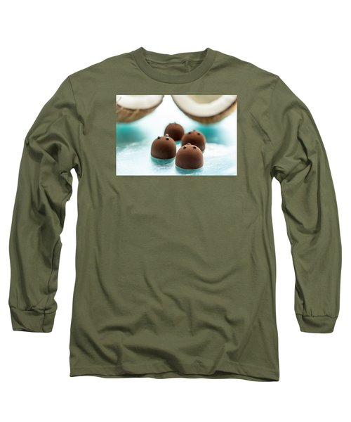 A Hint Of Coconut  Long Sleeve T-Shirt by Sabine Edrissi