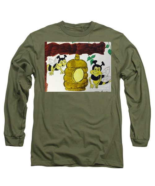 A Honey And The Bees Long Sleeve T-Shirt