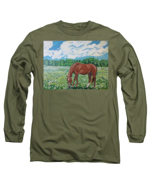 A Horse Named Dante Long Sleeve T-Shirt