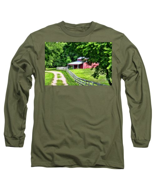 A Little Bit Country Long Sleeve T-Shirt